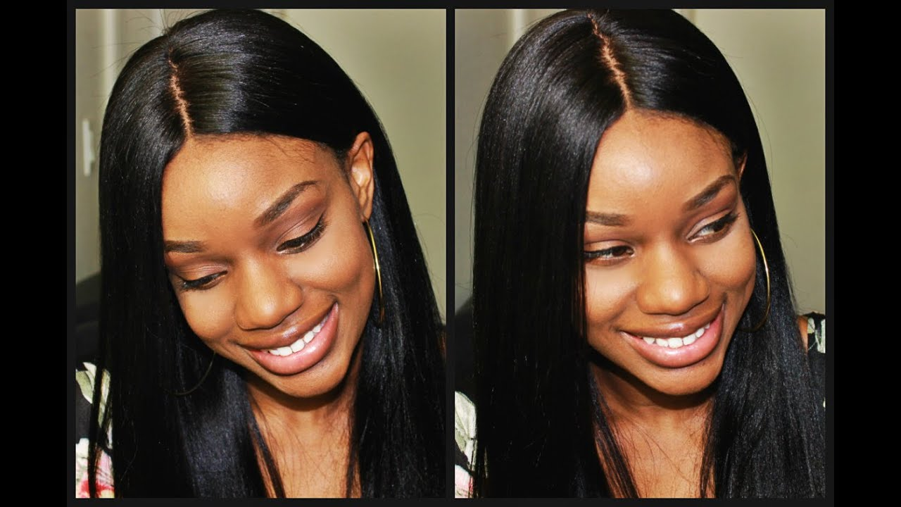 The Most NATURAL Wig How To LAY Your Silk Top Lace Wigs