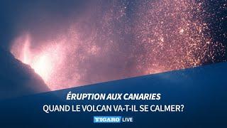 🌋Éruption aux Canaries: quand le volcan va-t-il se calmer?