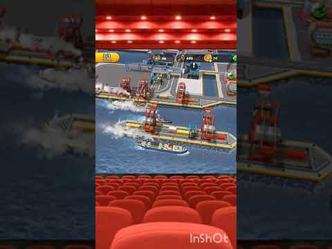 Ships Entering Port -Port City :Ship Tycoon