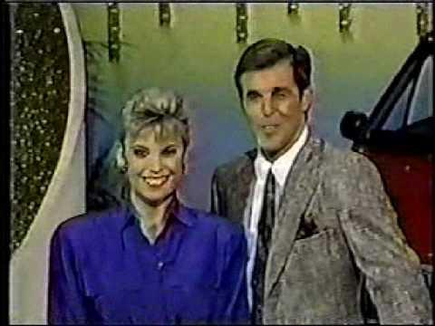 1989 Wheel of Fortune w/Rolf Benirschke promo