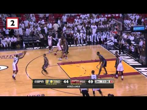 Indiana Pacers vs Miami Heat Game 4 | May 26, 2014 | NBA Eastern Conference Finals 2014