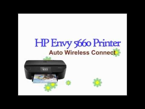 Hp Auto Wireless Connect With Hp Envy 5660