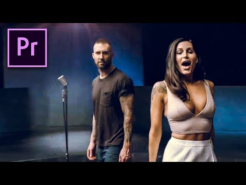 ROTATION REVEAL in PREMIERE PRO (Maroon 5 - Girls Like You)