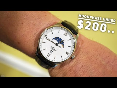 A Swiss MoonPhase Watch For $134?! Sekoni Watch Review