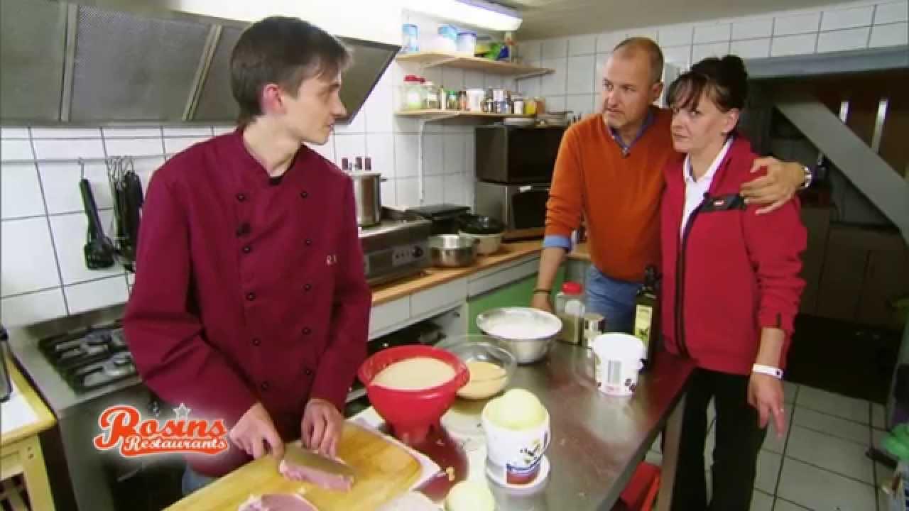 Rosins Restaurants Vorbereitungen Fürs Testessen Beim Landgasthof
