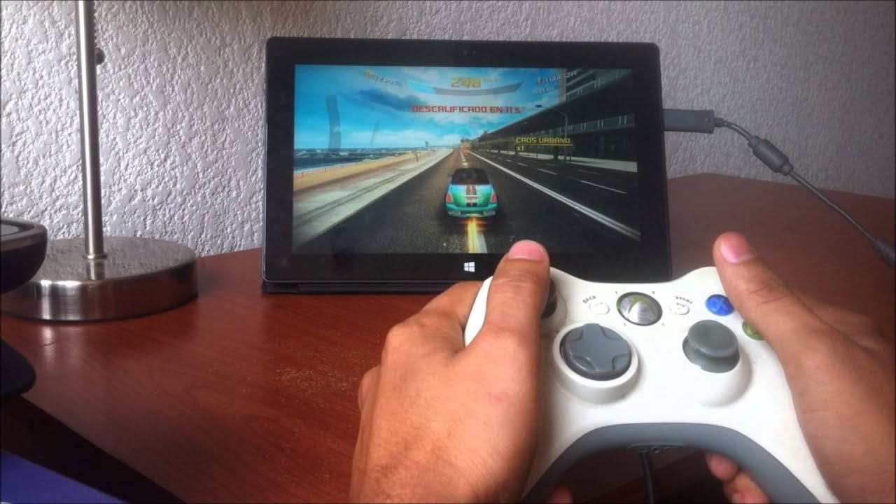 jugar windows surface rt con control de xbox espa ol