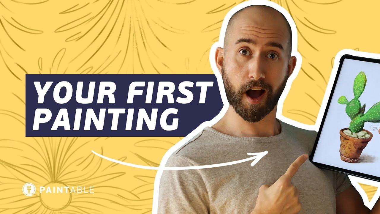 Digital Painting: The Ultimate Beginner's Guide - Paintable