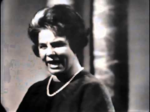 """Irmgard Seefried sings """"Die Forelle"""""""