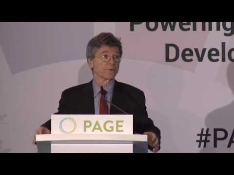 04  PAGE Ministerial Conference - Inclusive Growth & Full Employment Keynote Jeffrey Sachs & Panel