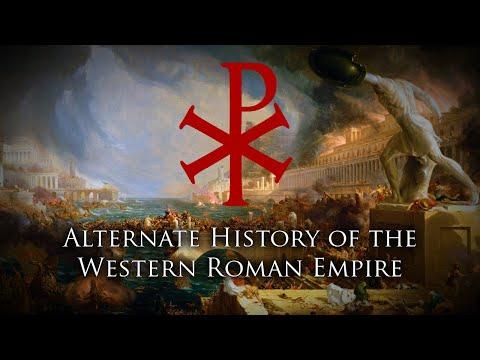 Alternate History Of Western Rome (476 - 2021)