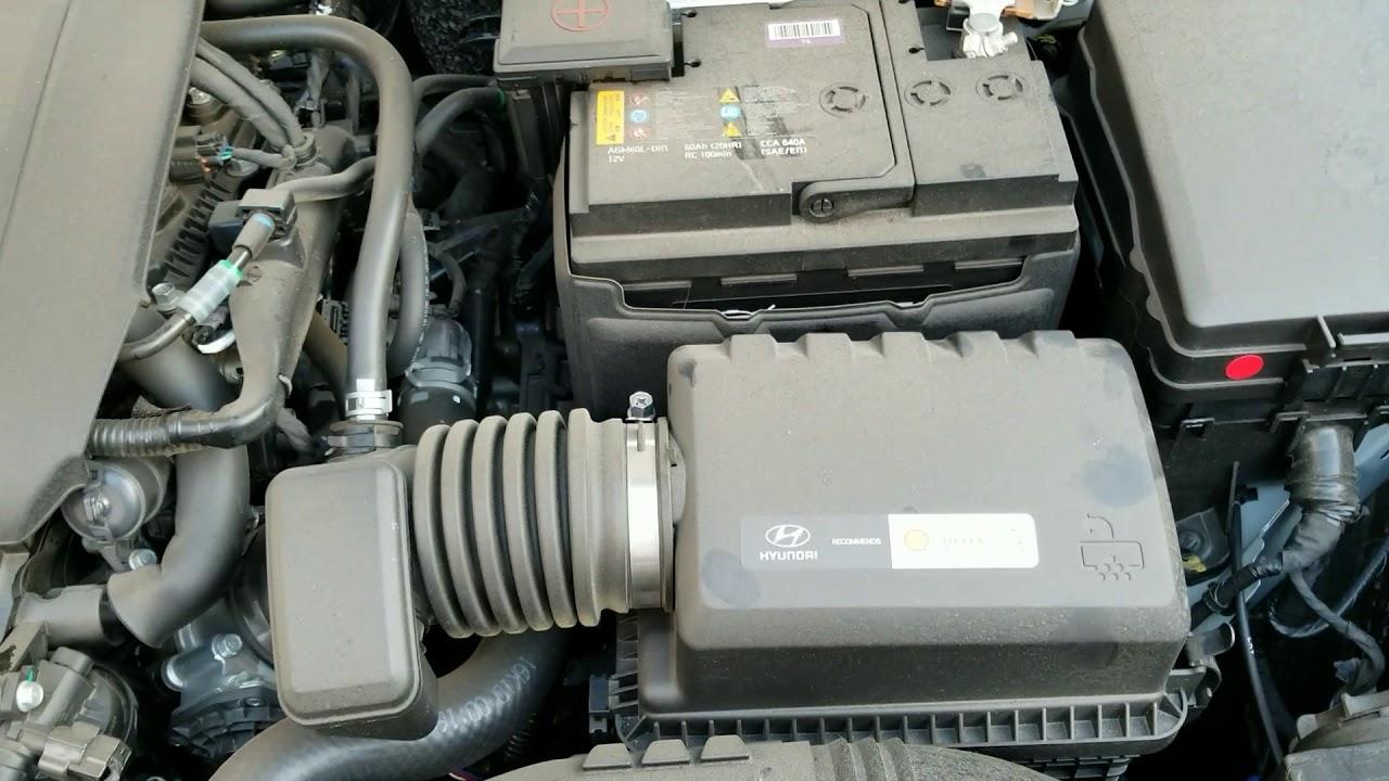 2017 Hyundai Elantra Se Air Filter Replace