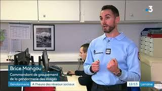 Réseaux sociaux et humour : la communication digitale de la gendarmerie ds Vosges