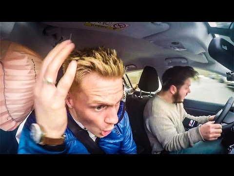 World Best Live Car Crash Caught Inside The Car Ever 2016 (It dosen't look like you thought)