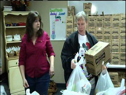 Twin Cities Live features Kingswood church Foodshelf