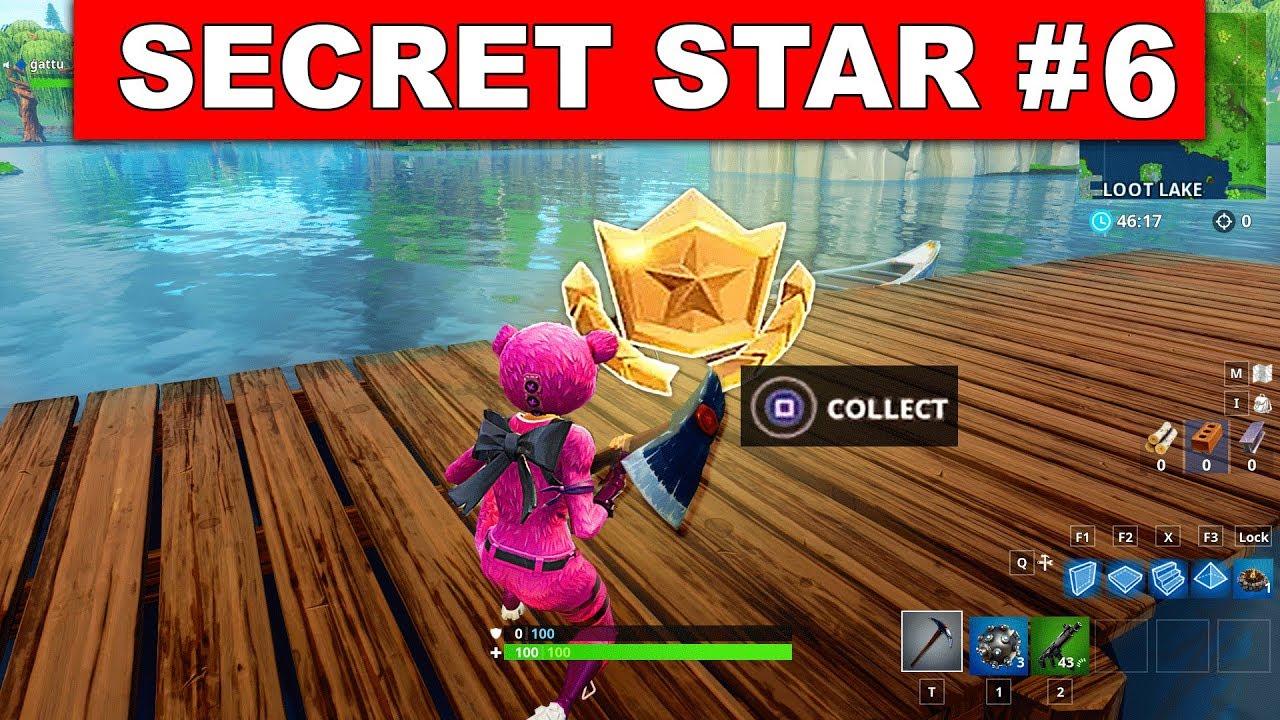 Fortnite season 5 all secret battle star locations