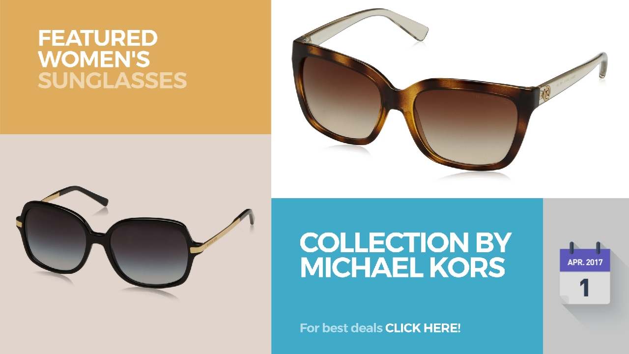 bfa6133f1d3bb Collection By Michael Kors Featured Women s Sunglasses - YouTube
