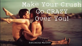 Make Your Crush go CRAZY over you! Subliminals Rife Frequencies Hypnosis Biokinesis Warlock