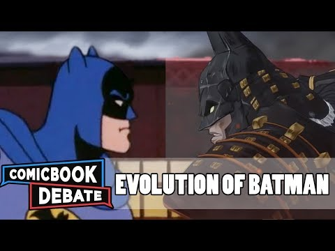 Evolution of Batman in Cartoons in 45 Minutes 2018