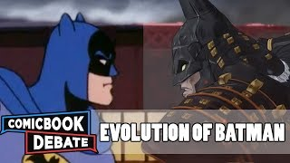 Die Evolution von Batman in den Karikaturen in 45 Minuten (2018)