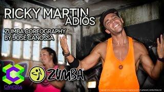 Ricky Martin - Adiós Zumba Coreography By José Canossa