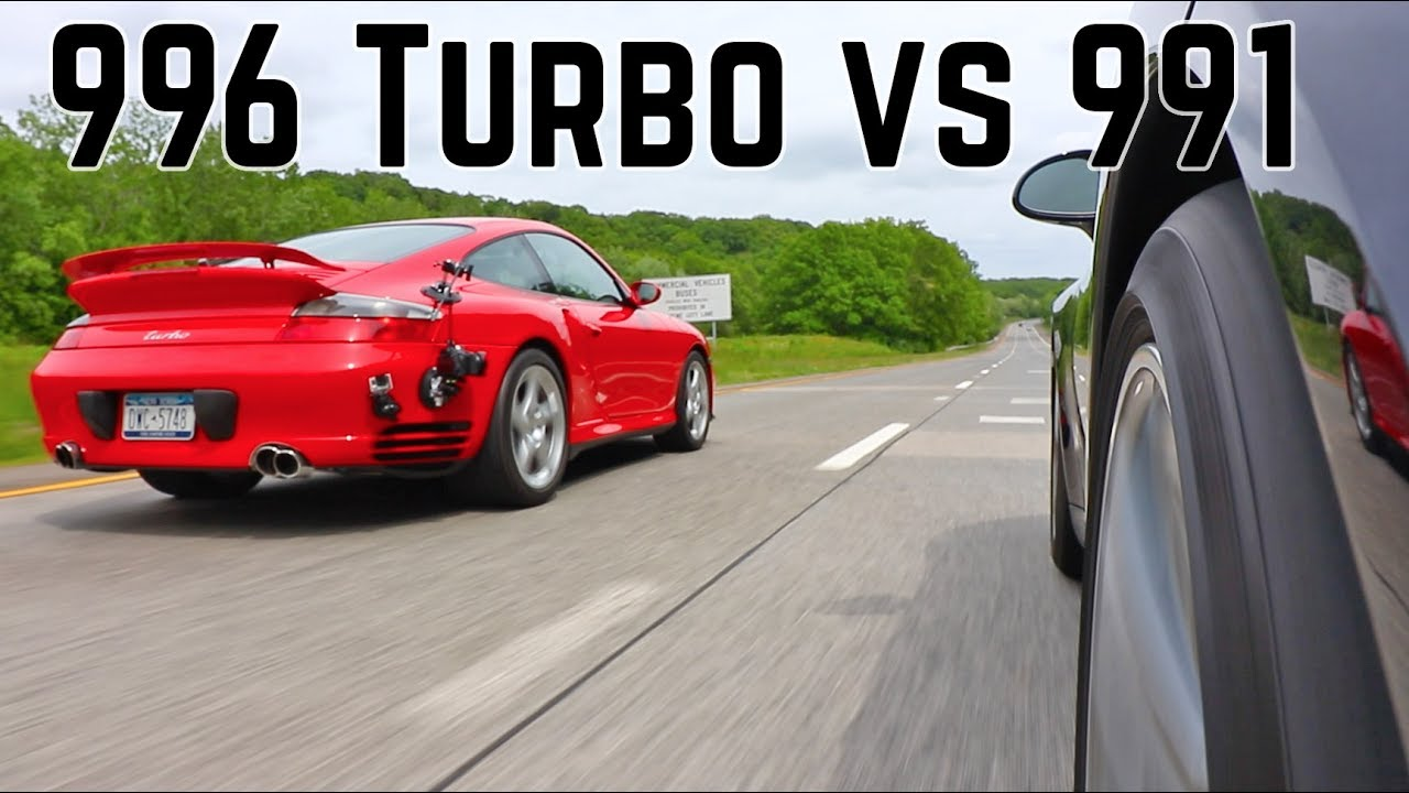 911 996 Turbo vs 911 991.2 Carrera 4S