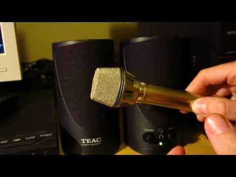Micrófono cardioide y acoples (feedback) - ¡NO TAPES LOS ORIFICIOS, QUE SE HACE OMNI!