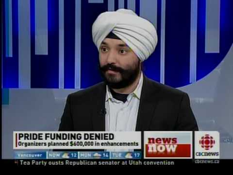 Navdeep bains speaking to the conservative cuts to toronto for Navdeep s bains