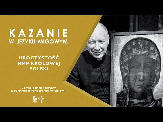 KAZANIE NMP Królowej Polski
