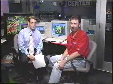 Part 2  2002 Veterans Day Tornado Outbreak Coverage from WRCBTV Chattanooga, TN