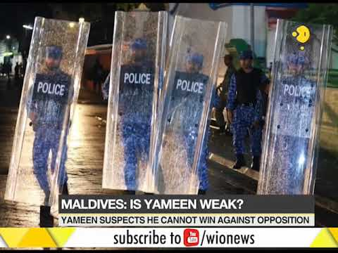 Maldives: President Yameen's actions seem desperate