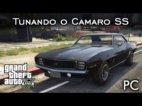 Tunando o Camaro SS 350! MOD SHOW a 60fps! | GTA V - PC [PT-BR]