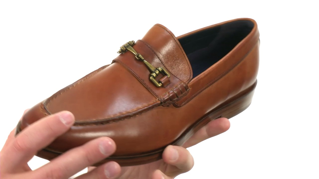 66f37d04aae Cole Haan Hamilton Grand Bit Loafer SKU 8869511 - YouTube