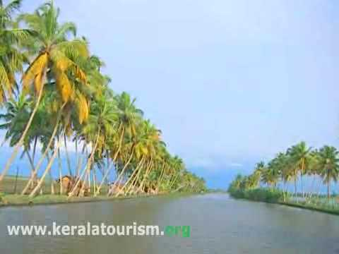 Backwater stretches at Kumarakom