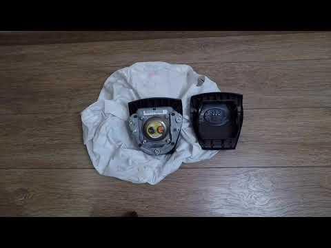 Замена накладки руля выстрелившей подушки безопасности Toyota