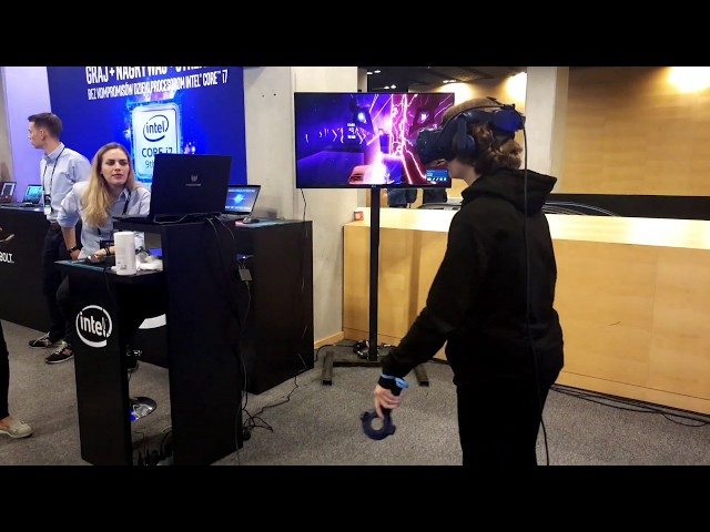 Intel Showroom podczas finałów Intel Extreme Masters 2019 - IEM 2019