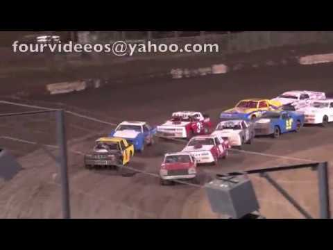 Perris Auto Speedway Highlights of the Street Stock Main Event 4-20-19