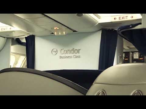 Condor Airlines Business Class Frankfurt To Tobago.