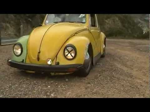 VW Beetle Bumblebee, cruising thru the mountains - YouTube