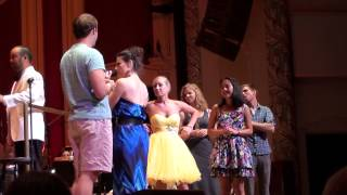 Tyler Hanes singing Take Me Or Leave Me with Idina Menzel in Pittsburgh