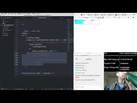Elm - Building Drag n' Drop Tabs - Part 2