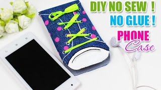 DIY PHONE CASE NO SEW & NO GLUE AT ALL | Easy Tutorial BOOTS