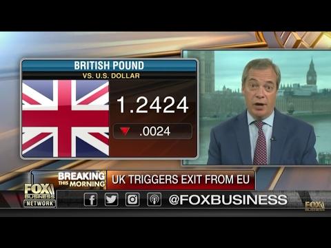 Nigel Farage - U.K.'s divorce process from EU.
