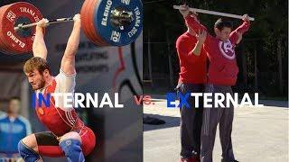 Internal vs. External Rotation (Weightlifting vs. CrossFit)