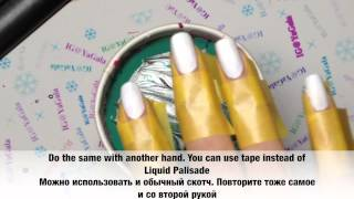 Water marble step by step / Водный маникюр