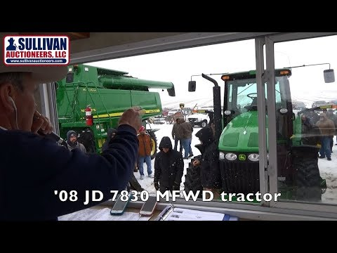 Highlights of (4) Farm Machinery Auctions Last Week By Sullivan Auctioneers