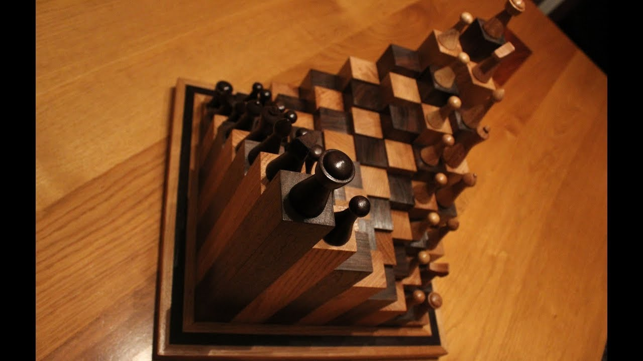 Woodwork The Chess Board You