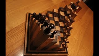 Woodwork  - The 3D Chess Board