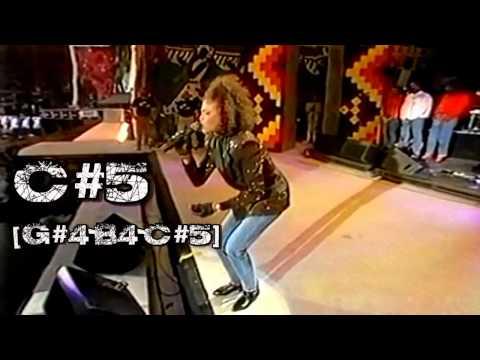 (HD) Whitney Houston - Live Vocal Range - Freedomfest 1988
