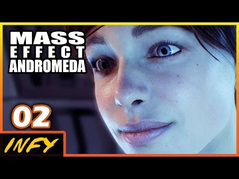 Infy Plays: Mass Effect Andromeda - DEATH OF...??? (Casual Emotional Ryder  Let's Play PART 2)