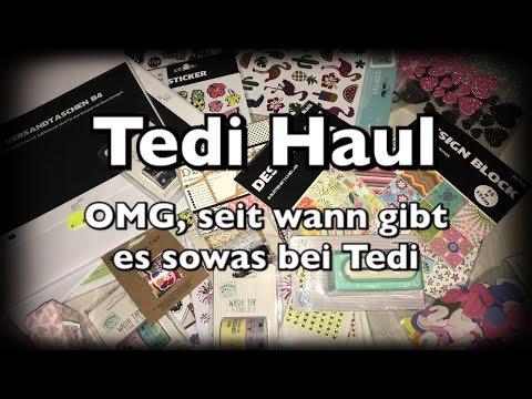 Tedi Haul (deutsch) Bastel Haul, Bordürenstanzer, neue Blöcke foliert, DIY, Scrapbook